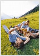 романтический пикник на первом свидание