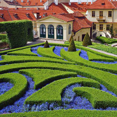 Ландшафтный дизайн в загородном доме