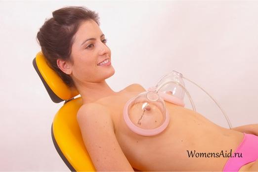Вакуумный массажер для увеличения груди