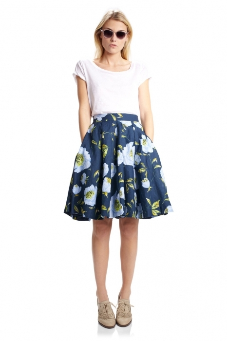 Расклешенная юбка