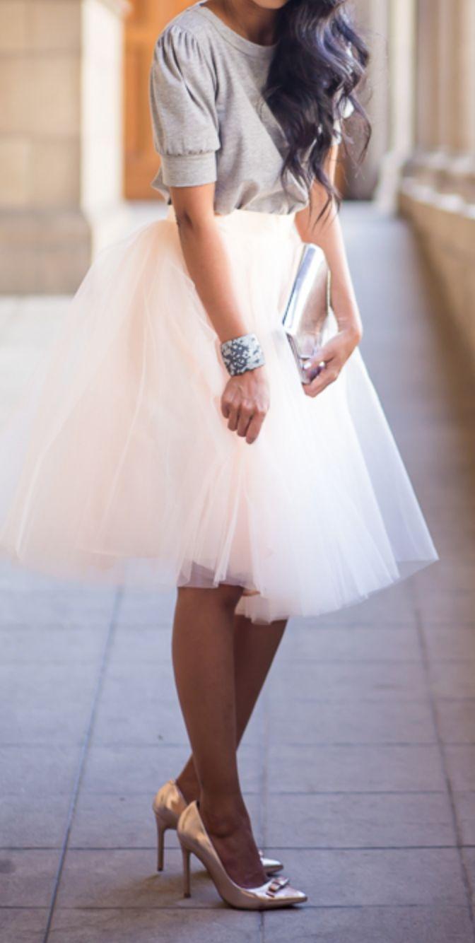 Юбка балерины